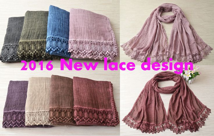 2016 New shawls,cotton lace scarf,plain hijab,tie die scarf,Muslim hijab,cotton shawl,cape,shawls and scarves,muffler,wrap