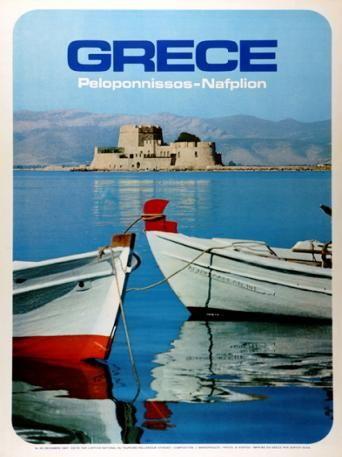 GRECE 1960~1969. PELOPONNISSOS-NAFPLION.