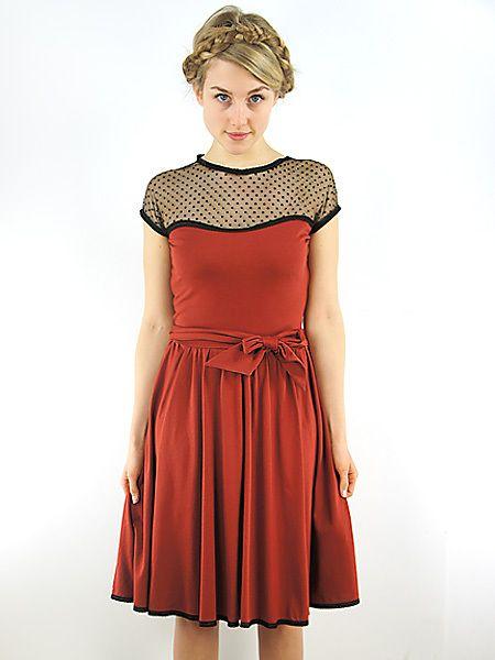 Cyroline Fräulein Stachelbeere Kleid »Saki« von C Y R O L I N E  auf DaWanda.com