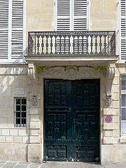 L'immeuble 21 quai de Béthune où C.Baudelaire reçoit Jeanne Duval