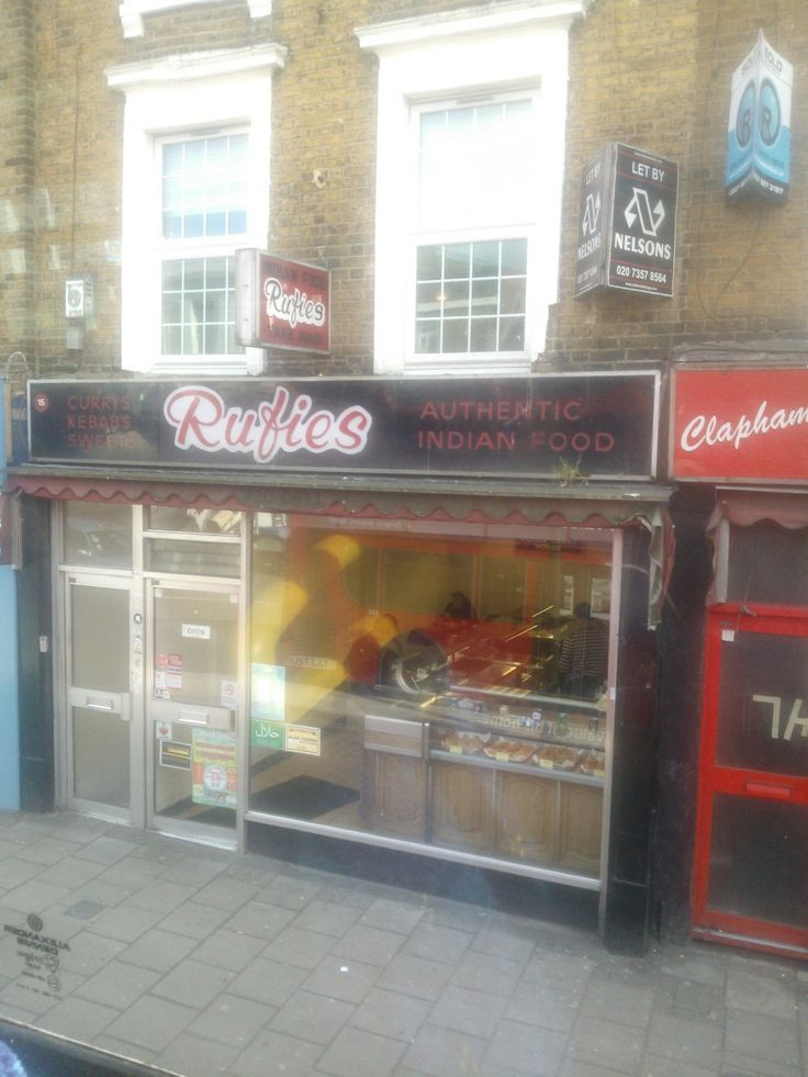 Ill advised name for food joint, Balham