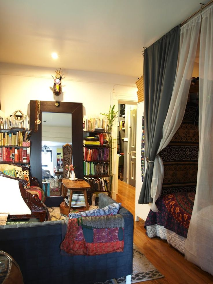 1000 ideas about bohemian studio apartment on pinterest - Looking for 1 bedroom apartment in brooklyn ...