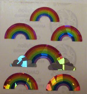 sandylion stickers rainbows - Google Search