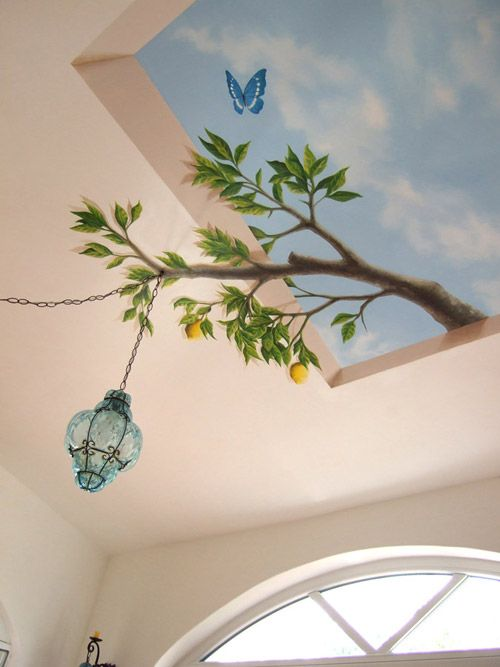 ceiling. Roberto Rizzo