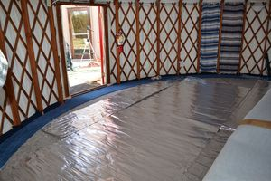 23 Best Images About Concrete Floor For Yurt On Pinterest