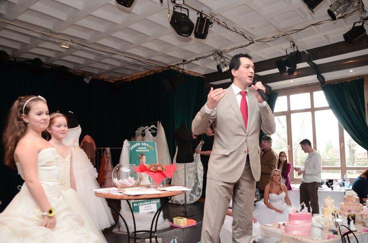 Budakalászi Esküvőkiállítás házigazdája (fotó: Szarka Dávid)