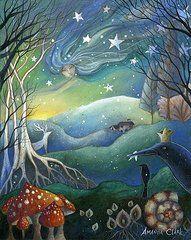 Amanda Clark Art - Yule by Amanda Clark