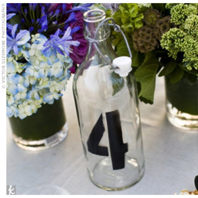 Table assignments- imagine they are little lanterns with candles