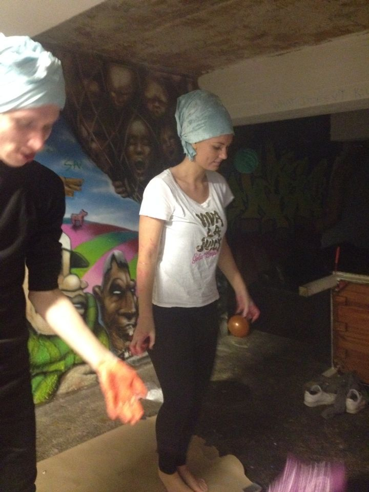 Dancing and Painting