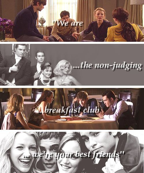 gossip girl... i miss this show   one of my favorite lines from the series.