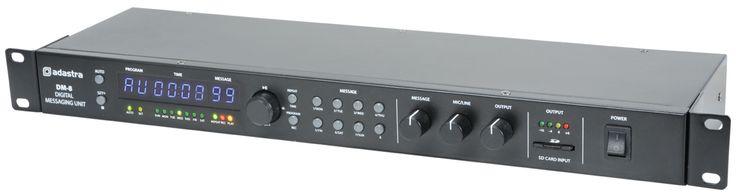Adastra DM-8 Odtwarzacz komunikatów dźwiękowych Digital Messaging Unit