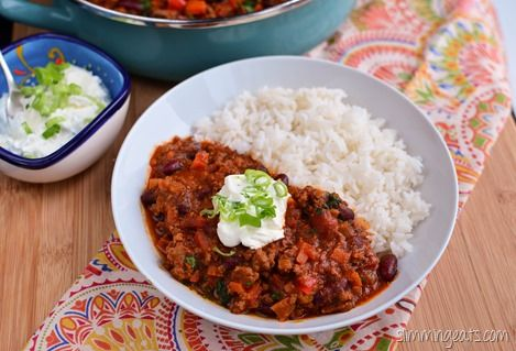 Slimming Eats Chilli Con Carne - Gluten Free, Slimming World and ...