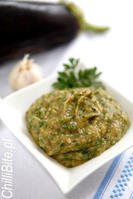 ChilliBite.pl - motywuje do gotowania!: Melitzanosalata - grecka pasta z bakłażanów