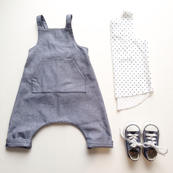 Chambray waders + boardwalk tank | carlymegan ss15 | children's clothing, kids style, baby fashion