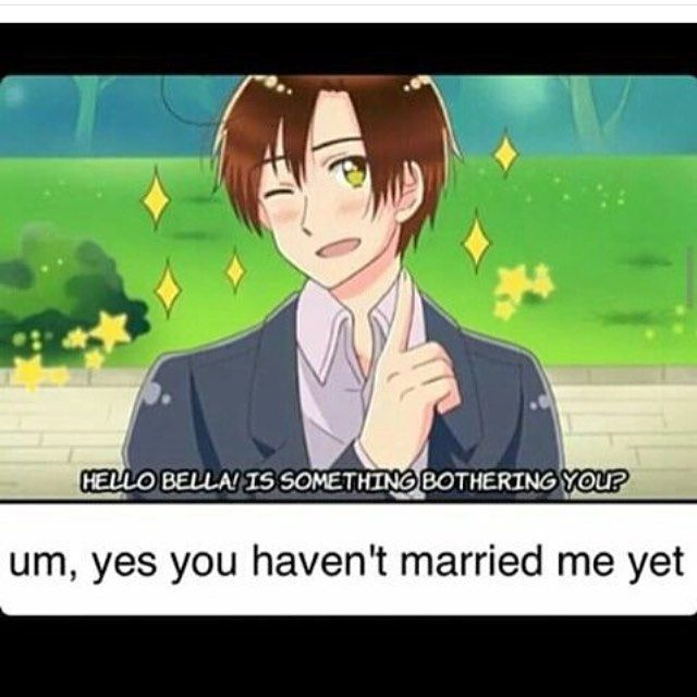 MARRY ME <3 XD<<NO ROMANO SPAIN WOULD BE SO SADDDD<<HERE HERE SPAMANO<<SPAIN PROBABLY MADE THE MEME<<< i---