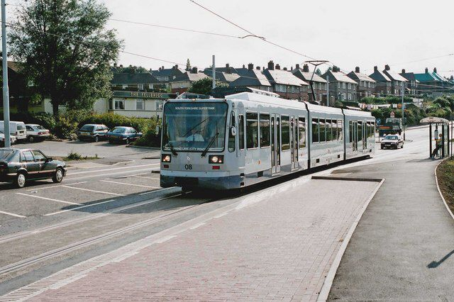 The Supertram network was under construction before I left Sheffield and it finally opened in 1994. My family, still in Sheffield, love it and use it all the time.