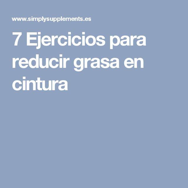 7 Ejercicios para reducir grasa en cintura
