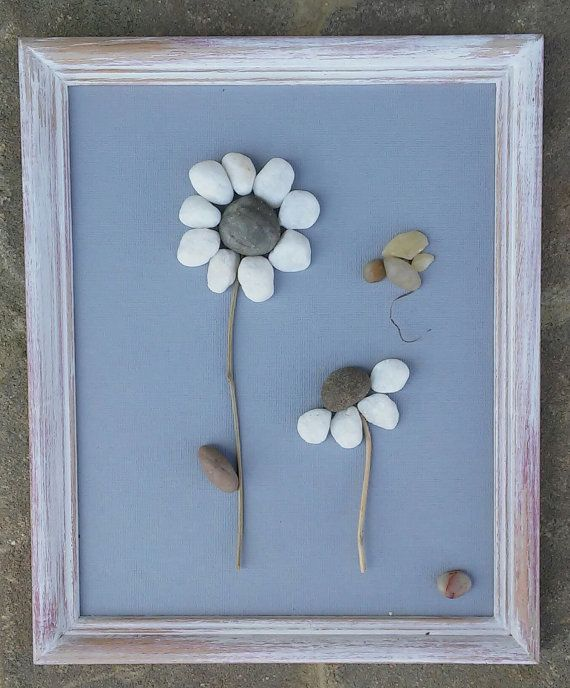 Check out this item in my Etsy shop https://www.etsy.com/listing/225358976/pebble-art-rock-art-pebble-art-flowers