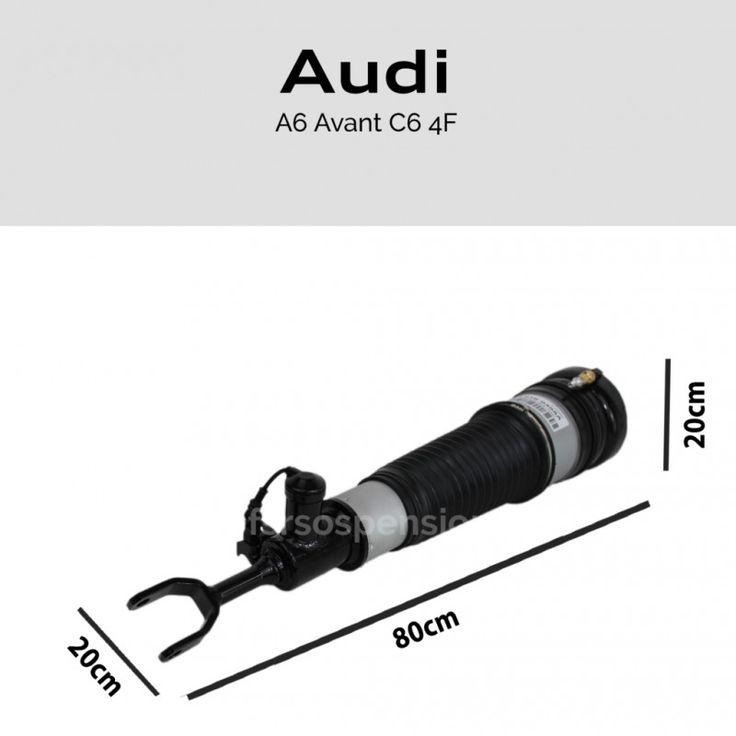 Ammortizzatore completo Audi A6 C6 4F Avant Allroad anteriore sinistro