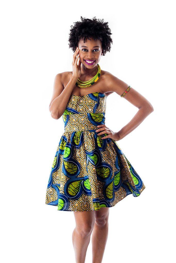 Amina ankara print dress is back in two new prints! Pre-order today >>> ~African fashion, Ankara, kitenge, African women dresses, African prints, African men's fashion, Nigerian style, Ghanaian fashion ~DKK