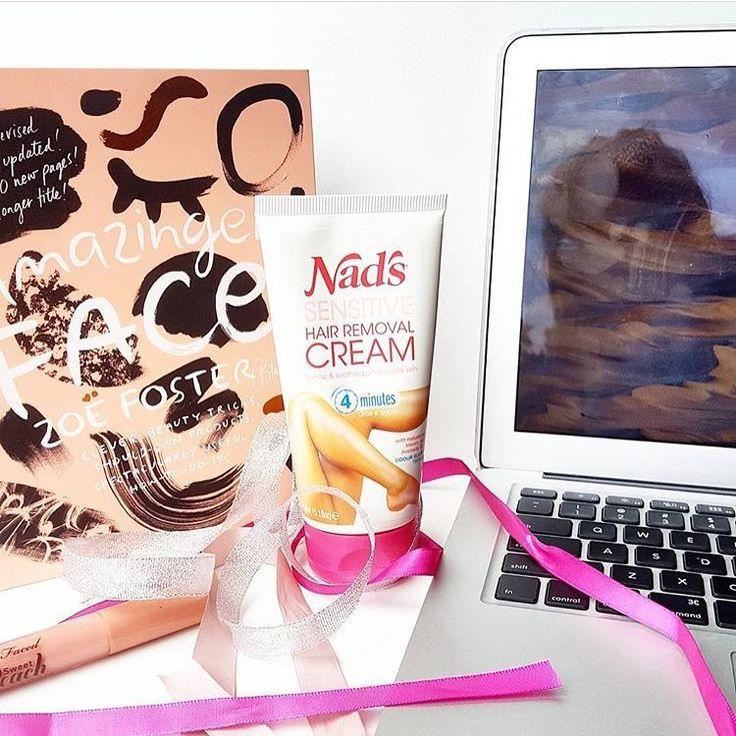 Nad's Sensitive Hair Removal Cream Hair removal cream