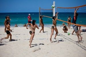 Gold Coast Beach Volleyball...
