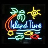 Neon Bar Sign - Island Time