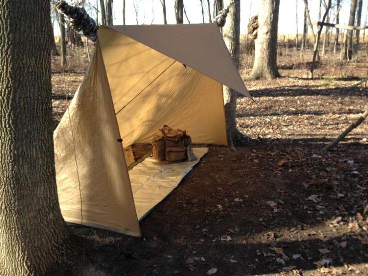basic tarp shelter   Thread: BCUSA Tarp Shelter Thread