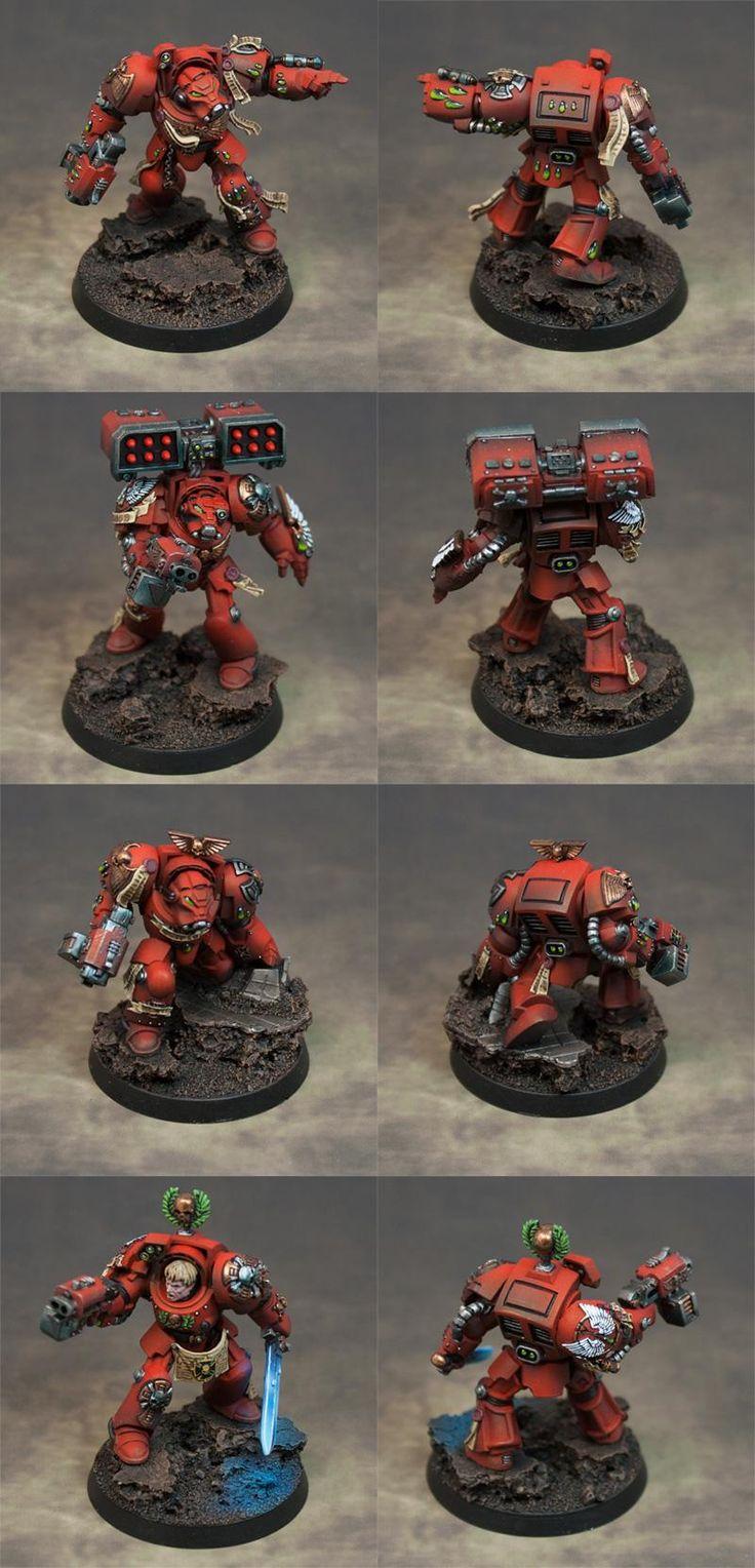 Blood Angels, Space Hulk, Terminator Armor, Warhammer 40,000