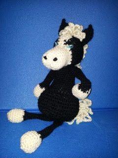 Cavallo selvaggio all' uncinetto - mustang - pony crochet amigurumi