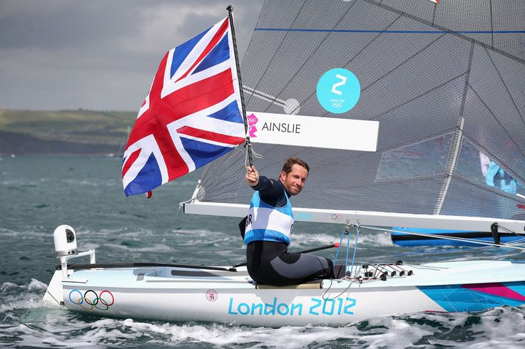 Sir Ben Ainslie sailing to gold at London 2012 Sir Ben now has four gold and one silver medal to his name