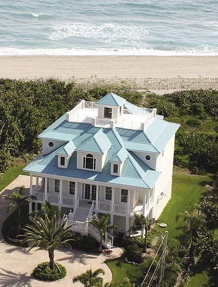 Porch, blue......happy house!!!
