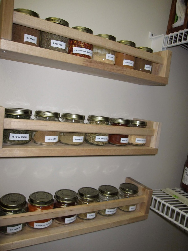 IHeart Organizing: Reader Space: Allison Is Spicinu0027 Things Up!    Baby Food  Jars Turned To Spice Jars