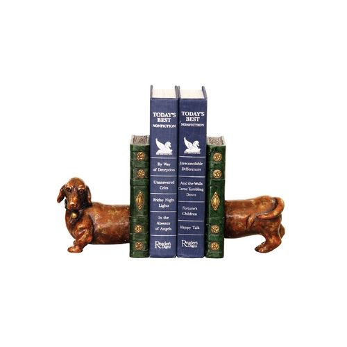 Dachshunds Peppy Puppy Bookends