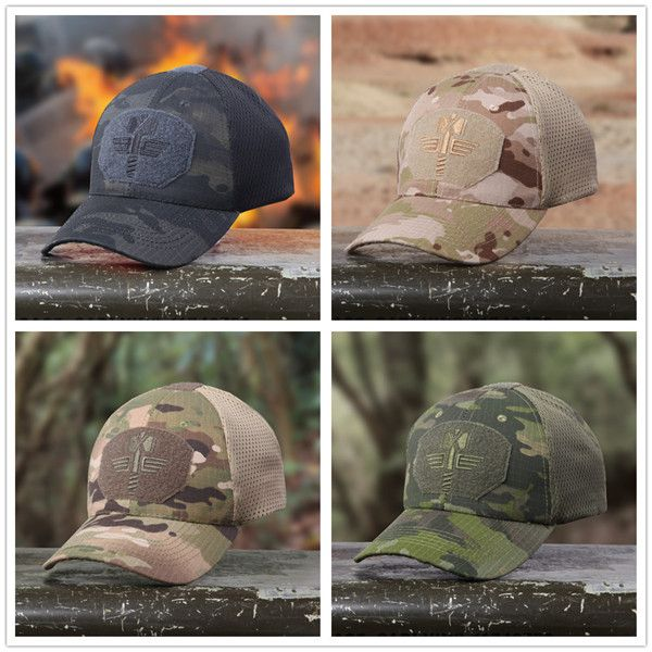 3a8275ad37b High-quality Men Multicam Camo Colorful Outdoor Tactical Baseball Cap  Hunting Hiking Military Hat - NewChic Mobile