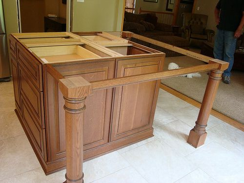 Supports For Kitchen Island Breakfast Bar Counter Overhang