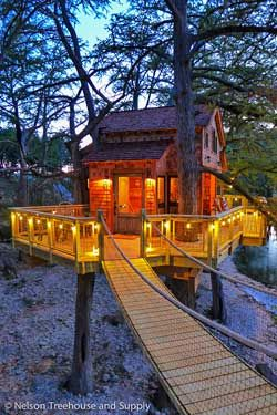 Leakey Texas Treehouse