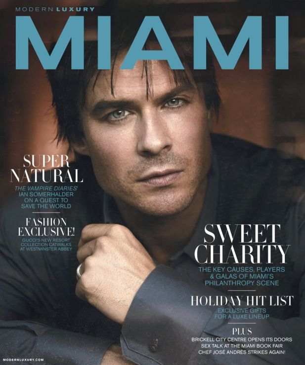 Ian Somerhalder - MIAMI Magazine (November, 2016) https://www.instagram.com/p/BL_4slwAynJ/?taken-by=miamimagazine http://www.justjaredjr.com/2016/10/27/vampire-diaries-ian-somerhalder-wants-to-start-a-family-with-nikki-reed/