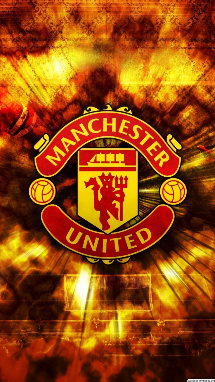 http://wallpaperformobile.org/11812/manchester-united-logo-mobile-wallpaper.html - manchester united logo mobile wallpaper