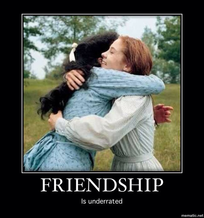 Anne of Green Gables Friendship