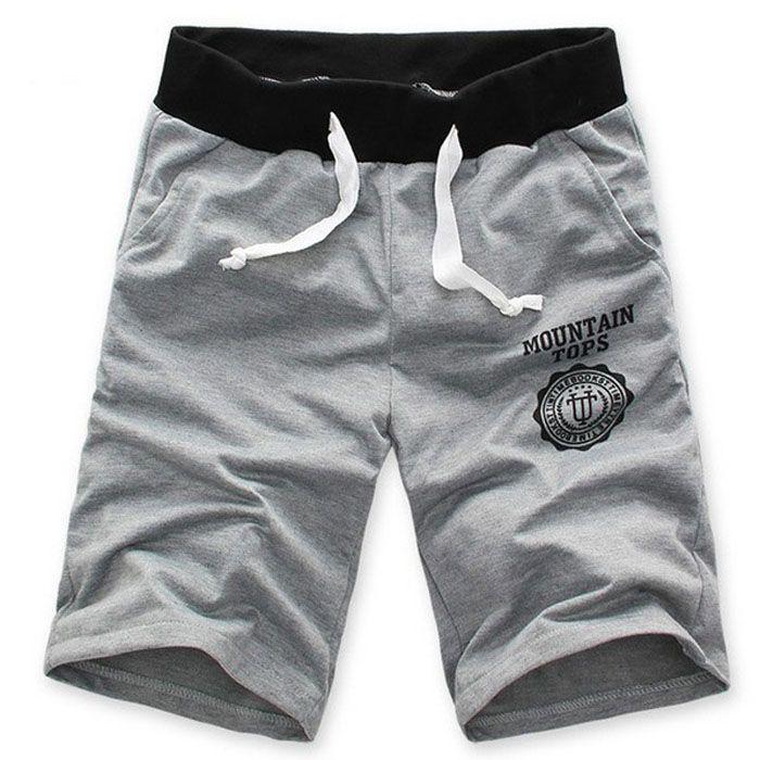 Fashion-Men-039-s-Casual-Summer-Cotton-Shorts-Pants-Gym-Sport-Jogging-Trousers