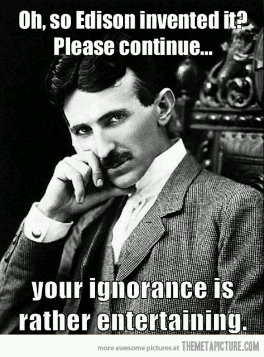 Nikola Tesla the Greatest inventor of our time. He wanted to give free energy to the World! Shortly after, he was destroyed by the dark forces who are trying to control the planet. Seek Truth! M.C