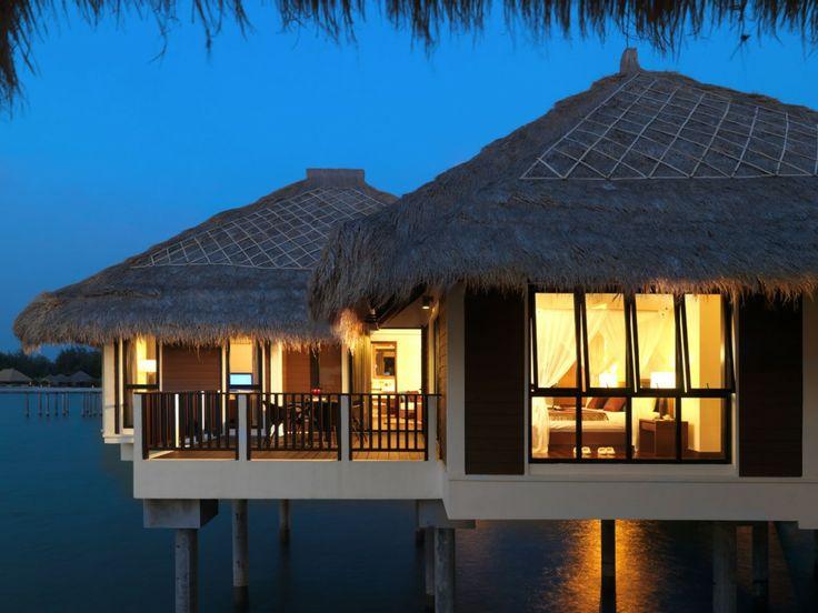 Découvrez ce magnifique appartement sur l'île en forme de palmier de Singapour ! #vacances #insolite #reve