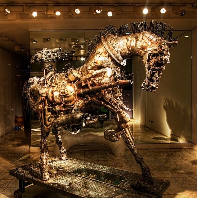 """Trojan Horse 3"" Willie Bester"