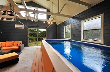 151 best hot tub images on pinterest pool ideas for Pool house garage