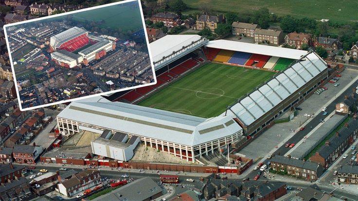 Liverpool extend stadium capacity to 54,074 seats. Anfield Stadium.