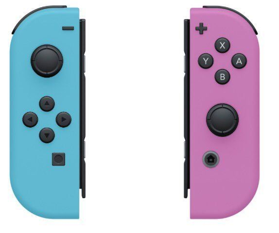 Pastel Pink Blue Custom Joy Cons Nintendo Switch Cases Switch Skins Switch Accessories Buy This C Consolas Videojuegos Nintendo Consola Nintendo Switch