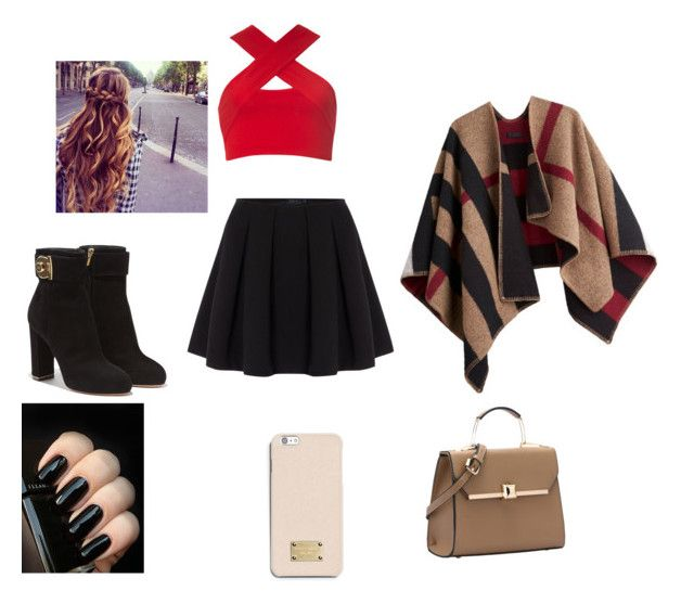 """""""Untitled #4"""" by maah200802 on Polyvore featuring Motel, Burberry, Polo Ralph Lauren, Salvatore Ferragamo and MICHAEL Michael Kors"""