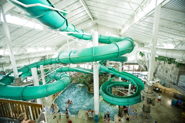 Mystical Tower Tube Slides At Mt Olympus Water Theme Parks In The Dells Anaconda It 39 S The