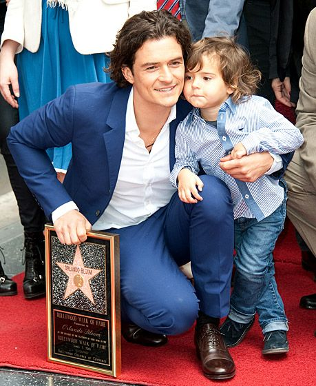 Orlando Bloom et son fils